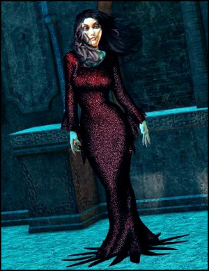 Mortella Dynamic Dress – UPDATED FOR GENESIS!